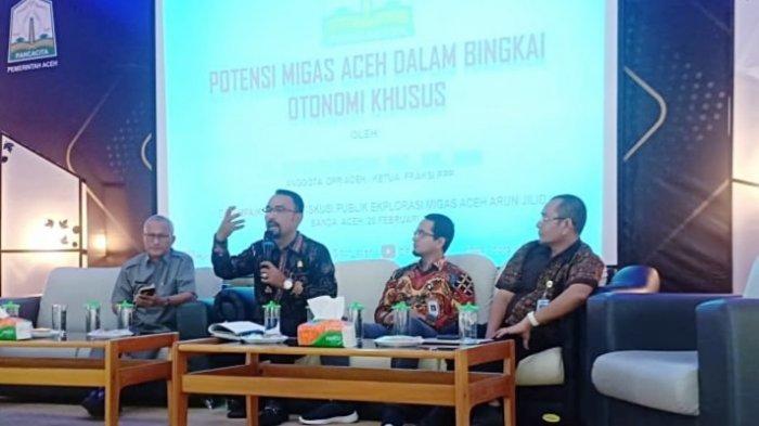 """Anggota DPRA Minta Aceh Jangan Terlena dengan Klausul """"Aceh Dapat 55% Minyak Bumi dan 44% Gas Alam"""""""