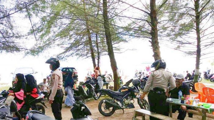 Kawasan Wisata Pantai di Simeulue Dijaga Polisi