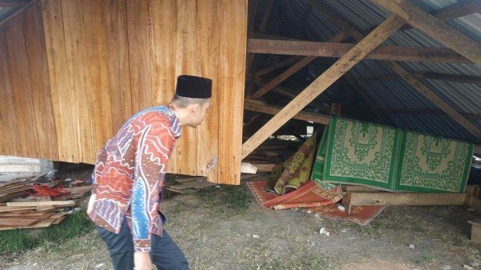 400 Lebih Rumah Rusak Diterpa Angin Kencang di Jagong Jeget, Aceh Tengah