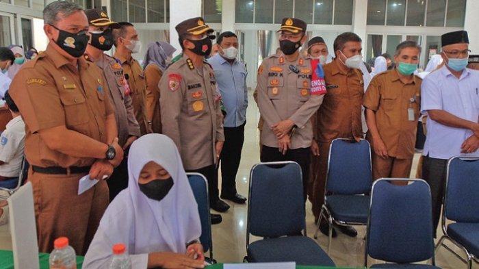Pemkab Aceh Besar Luncurkan Program Vaksinasi Anak Usia Sekolah