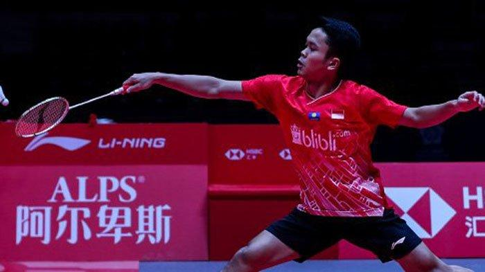 Hasil BWF World Tour Finals 2019 - Kalahkan Chen Long, Anthony Ginting Buka Peluang ke Semifinal
