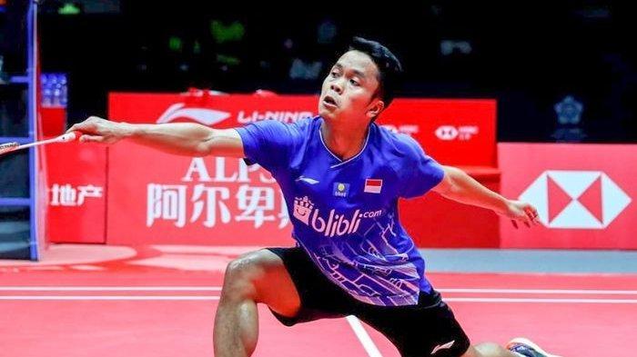 Hasil BWF World Tour Finals 2019 - Anthony Ginting Melaju ke Final Setelah Tumbangkan Chen Long