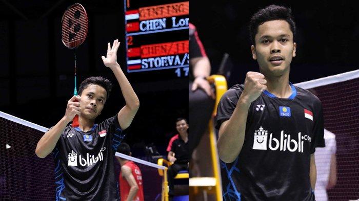 Ini Hasil Lengkap Semifinal China Open 2018, Indonesia Tersisa Anthony Ginting
