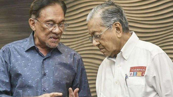 Jika Muhyiddin Yassin Lengser, Mahathir Mohamad Sebut 4 Tokoh Ini Berpeluang Jadi PM Malaysia