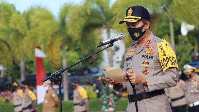 Pimpin Apel Peningkatan Disiplin dan Penegakan Prokes Pencegahan Covid-19, Ini Pesan Kapolda Aceh