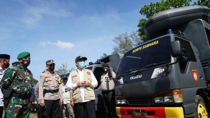 Pemkab Aceh Besar Gelar Apel Kesiapan Penanggulangan Bencana, Ini Pesan Bupati Mawardi Ali