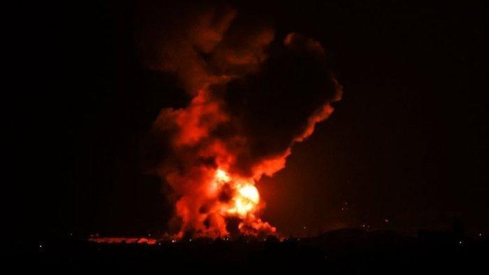 Israel Serang 130 Sasaran Militer di Gaza, Klaim Tewaskan 15 Mata-mata Militan