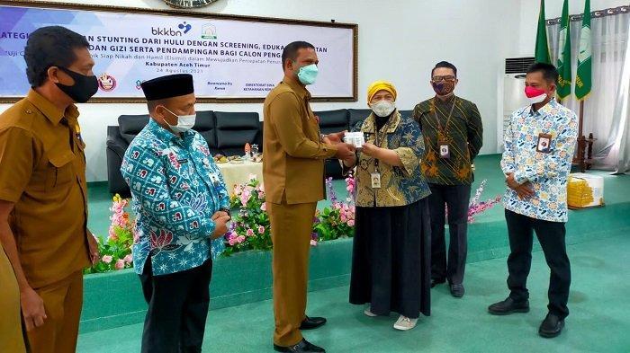 Bupati Aceh Timur Buka Kegiatan Ujicoba Aplikasi Siap Nikah dan Hamil