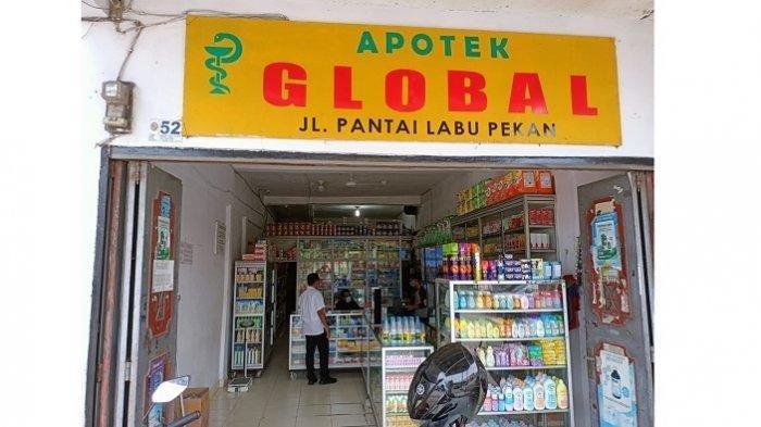 Apotek Global menjual obat Covid-19 jauh lebih tinggi dari harga eceran tertinggi (HET) yang telah ditetapkan Kementerian Kesehatan.