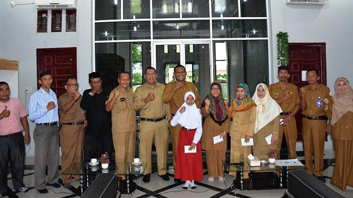 Bupati Aceh Timur Apresiasi Guru dan Siswa Berprestasi