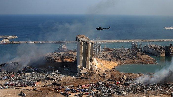 Ledakan di Beirut Lebanon: 16 Orang Ditahan, Penyelidikan Masih Berlanjut
