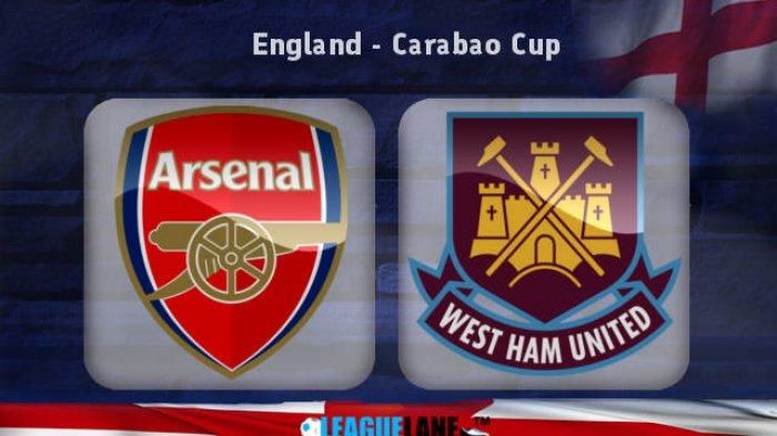 LIVE STREAMING - Arsenal vs West Ham United, Pukul 02.45 WIB, Nonton di SINI