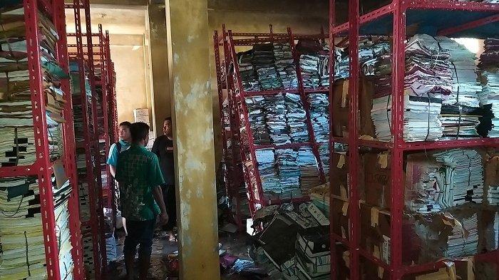 Gedung Arsip Badan Pengelolaan Keuangan Abdya yang Terbakar Menyimpan Ribuan Dokumen Penting