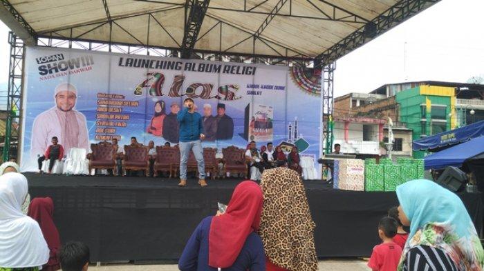Artis Aceh Sopan Sopian Launching Album Religi Berbahasa Alas