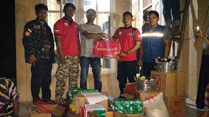 Korban Kebakaran Terima Bantuan Masa Panik dari Pemkab Bireuen