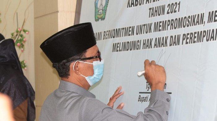 DP3AKB Deklarasi dan Sosialisasikan Aceh Selatan Sebagai Kabupaten Layak Anak, Ini Penekanan Bupati