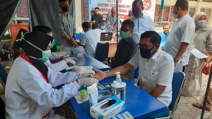 Melalui Aksi Tahap II, ASN Dinsos Aceh Kumpulkan Darah 44 Kantong