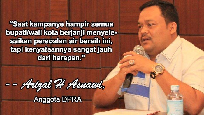 PDAM se-Aceh Sarat Masalah, Anggota DPRA Wacanakan Qanun Penyediaan Air Bersih