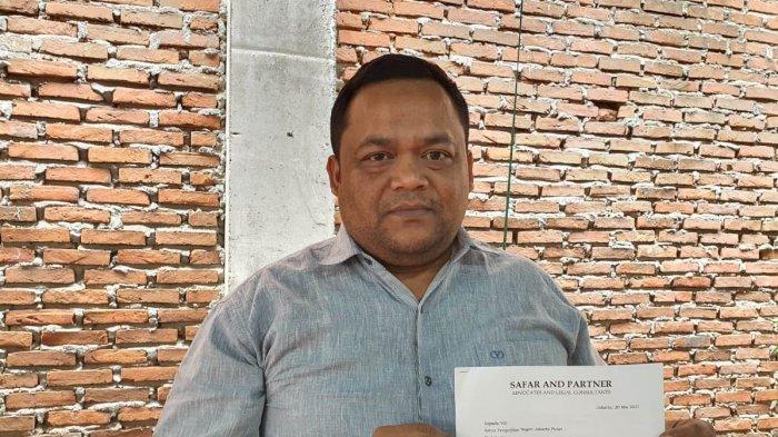 Asrizal H Asnawi, Anggota DPRA Gugat Menteri ESDM, Ini Persoalan yang Disorot