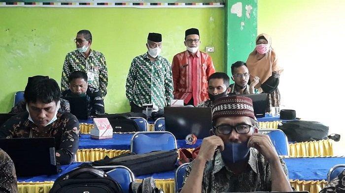 Kankemenag Gelar Tes Kompetensi Calon Kepala Madrasah di Subulussalam