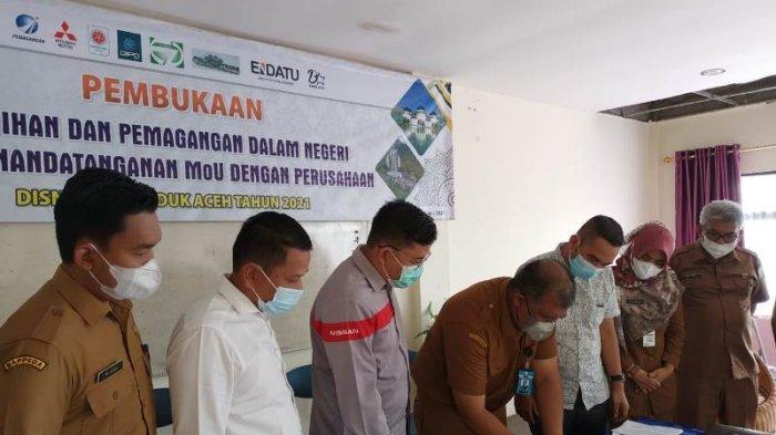 10 Pemuda Aceh Dilatih Agar Siap Bekerja di Perusahaan Besar, dari Perminyakan Hingga Otomotif