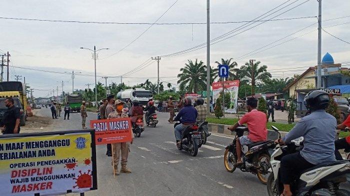 Sanksi Pelanggar Prokes Mulai Diterapkan di Aceh Tamiang, Warga tidak Berbusana Muslim Ikut Dijaring