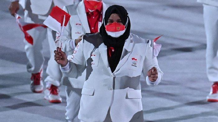 Greysia/Apriyani Berebut Emas di Partai Final, Giliran Lifter Asal Aceh Nurul Akmal Unjuk Kebolehan