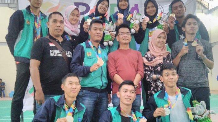 Atlet Bulu Tangkis Tambah Satu Emas Untuk Kontingen Kota Langsa