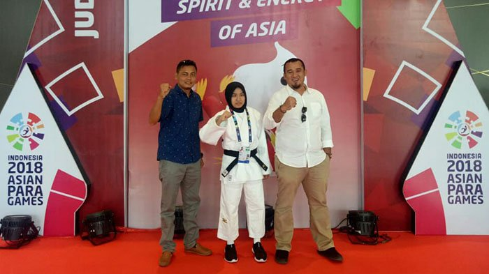 Pertahankan Jilbab, Atlet Judo Indonesia asal Aceh Didiskualifikasi dari Asian Para Games 2018