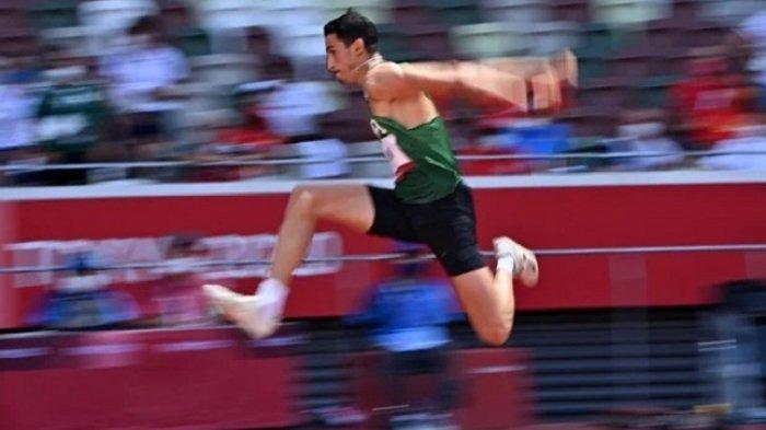 Atlet Lompat Jauh Aljazair Gagal Raih Medali Olimpiade Tokyo,Hanya Terpaut Satu Cm Untuk Raih Medali