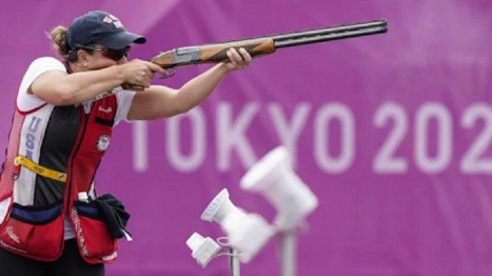 Letnan Angkatan Darat AS Raih Emas Olimpiade Tokyo, Pecahkan Rekor Menembak Skeet Wanita