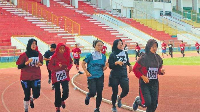 KONI Aceh Tes Fisik 76 Atlet Pelatda