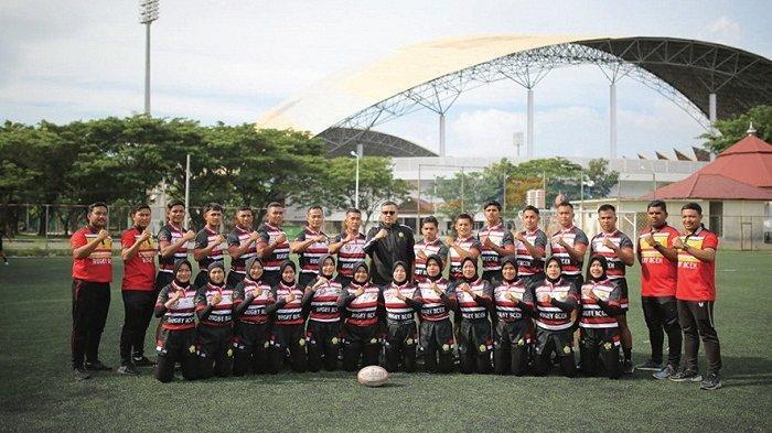 Tim Rugby Aceh Optimis Raih Emas di PON XX Papua