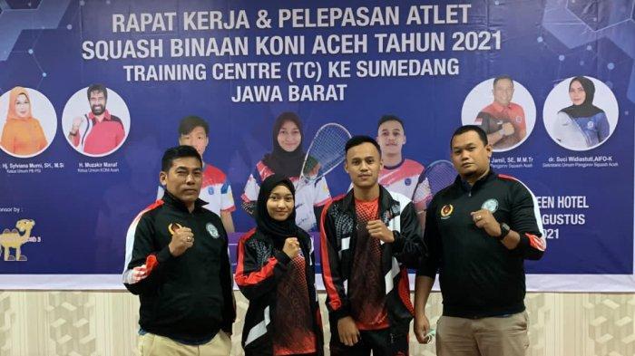 Dua Atlet Squash Banda Aceh Dikirim ke Sumedang, Jalani TC Beberapa Bulan