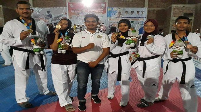 Taekwondo dan Binaraga Tambah Emas untuk Pidie
