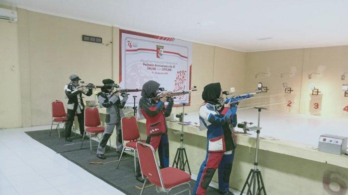 Atlet Perbakin Aceh Rebut Medali Emas di Kejuaraan Nasional Menembak Perbakin Anniversary 2021