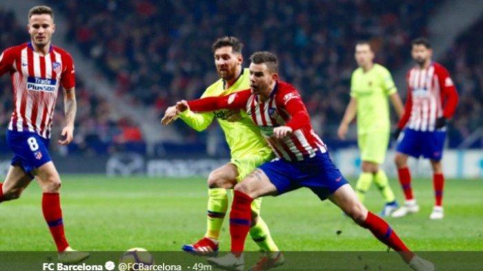 Hasil Liga Spanyol - Gol Telat Barcelona Gagalkan Kemenangan Atletico Madrid