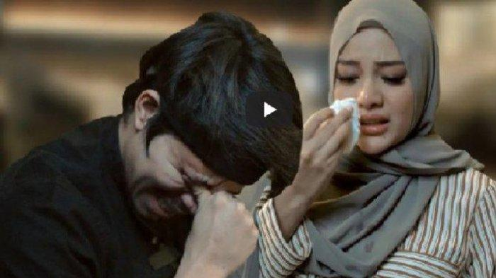 Atta Halilintar dan Aurel Hermansyah menangis.