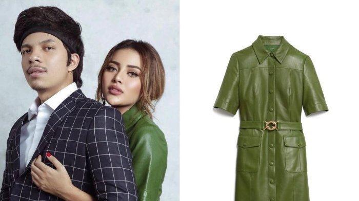 5 Potret Aurel Prewedding Pakai Shirt Dress Hijau, Netizen Salfok Atas Harga Baju Calon Istri Atta