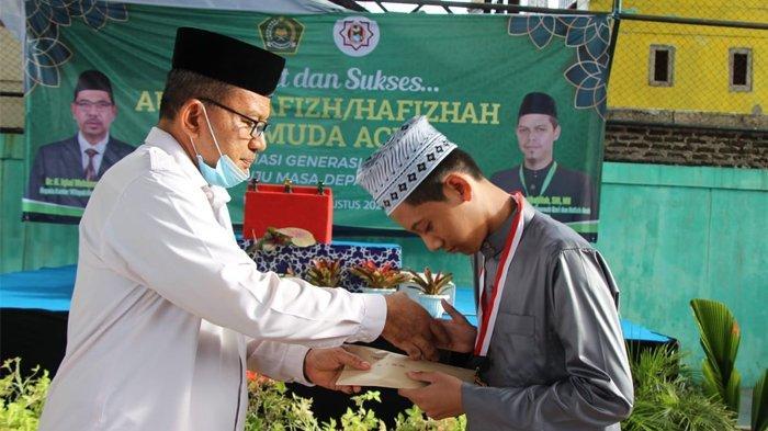 35 Peserta Ikut Audisi Hafiz Termuda Aceh, Abdul Haris dari Daarut Tahfizh Jadi Peserta Terbaik