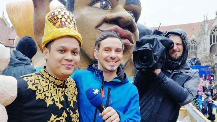 Pakaian Adat Aceh  di Karnaval Jerman