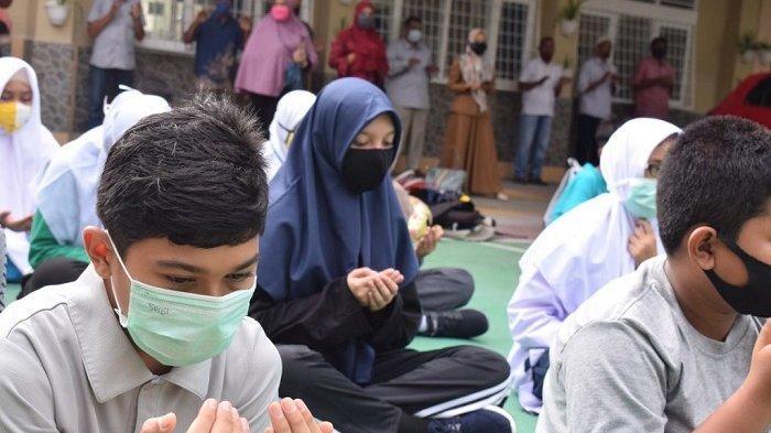 Awal Tahun Pelajaran Baru Mtsn 1 Model Banda Aceh Gelar Matsama Serambi Indonesia
