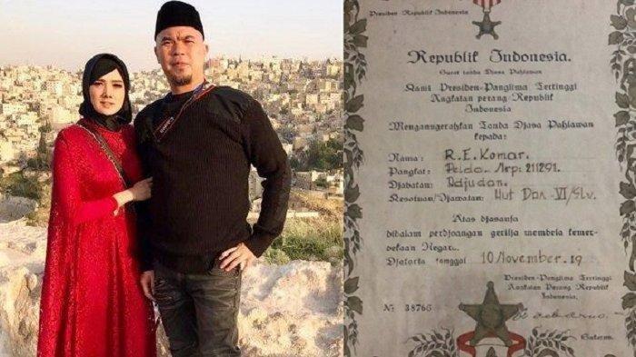 Bukan Sosok Biasa, Ternyata Ayah Mulan Jameela Pernah Dianugerahi Tanda Jasa Pahlawan