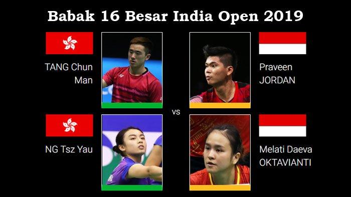 Jadwal Babak 16 Besar India Open 2019 - Tujuh Wakil Indonesia Berjuang Rebut Tiket Perempat Final