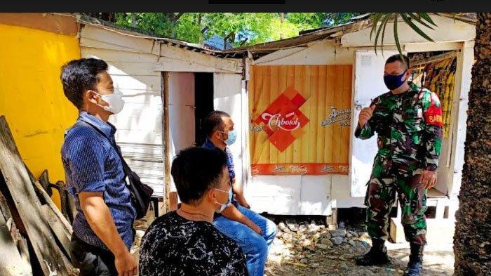 Babinsa Posramil Banda Raya Ajak Pemuda Berperan Tegakkan Prokes Covid 19