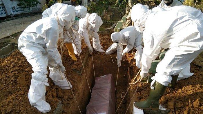 Pemakaman Pasien Covid-19 di Langsa Dikawal Personel TNI dan Polri, Begini Prosesnya