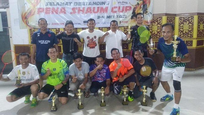 Bungkam Dedy/Hendra, Pasangan Munjir/Rahmad Juara PENA Shaum Cup 2021