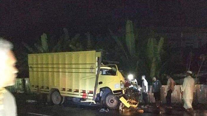Colt Bawa Ikan Terlibat Tabrakan dengan Truk Angkut Beton di Pidie, 1 Warga Aceh Besar Meninggal