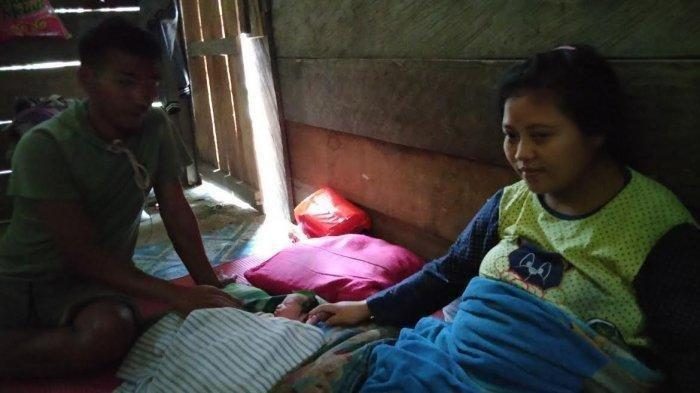 Kisah Ibu Muda Lahirkan Bayi di Tempat Pengungsian, Diberi Nama Rahmat Jalesu