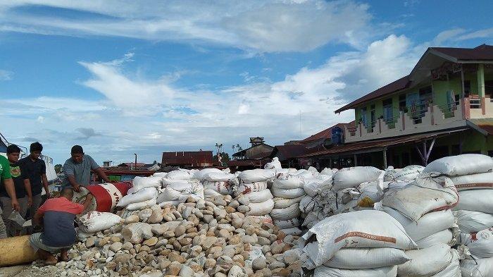 Diseberangkan Naik Boat dari Singkil, Harga Bahan Bangunan di Pulau Banyak Naik Dua Kali Lipat